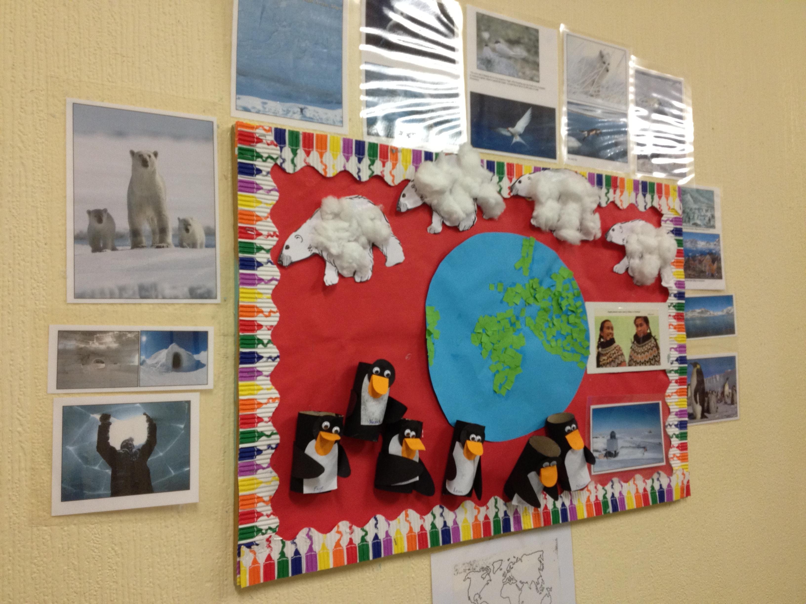 winter displays | Hedley Park Montessori School