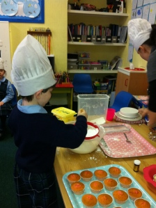 Sifting the flour, practical life in real life!