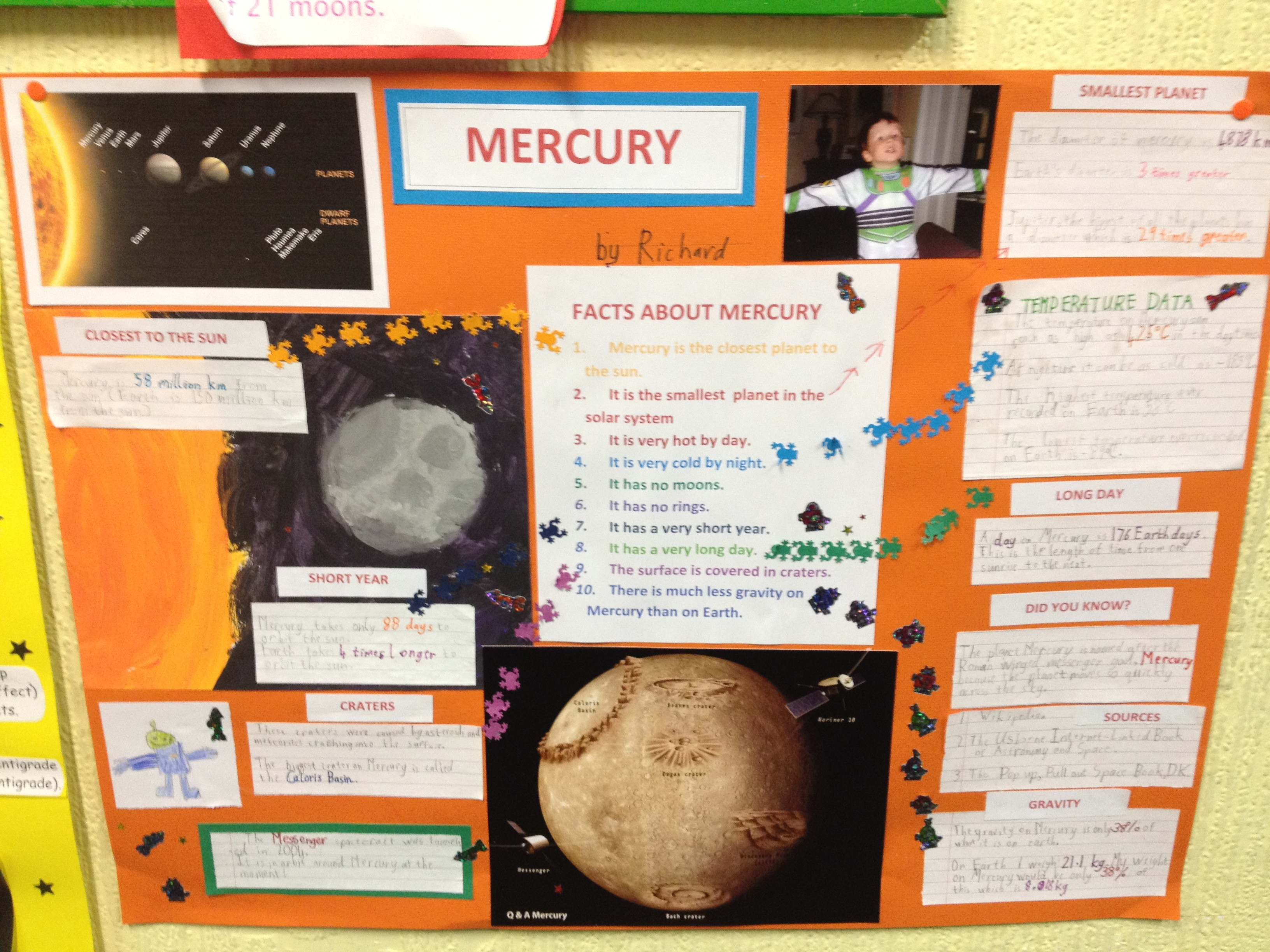 planet mercury projects - photo #1