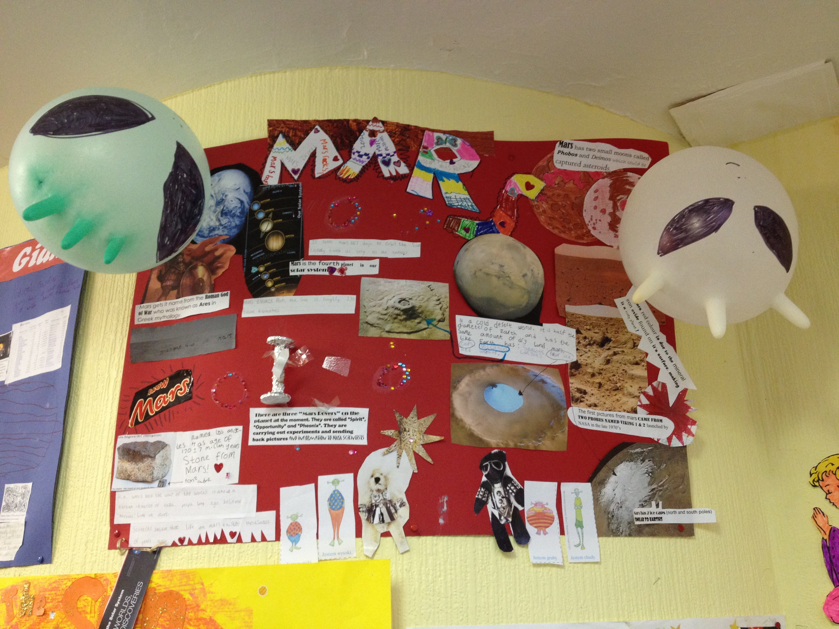 poster projects about planets pics about space