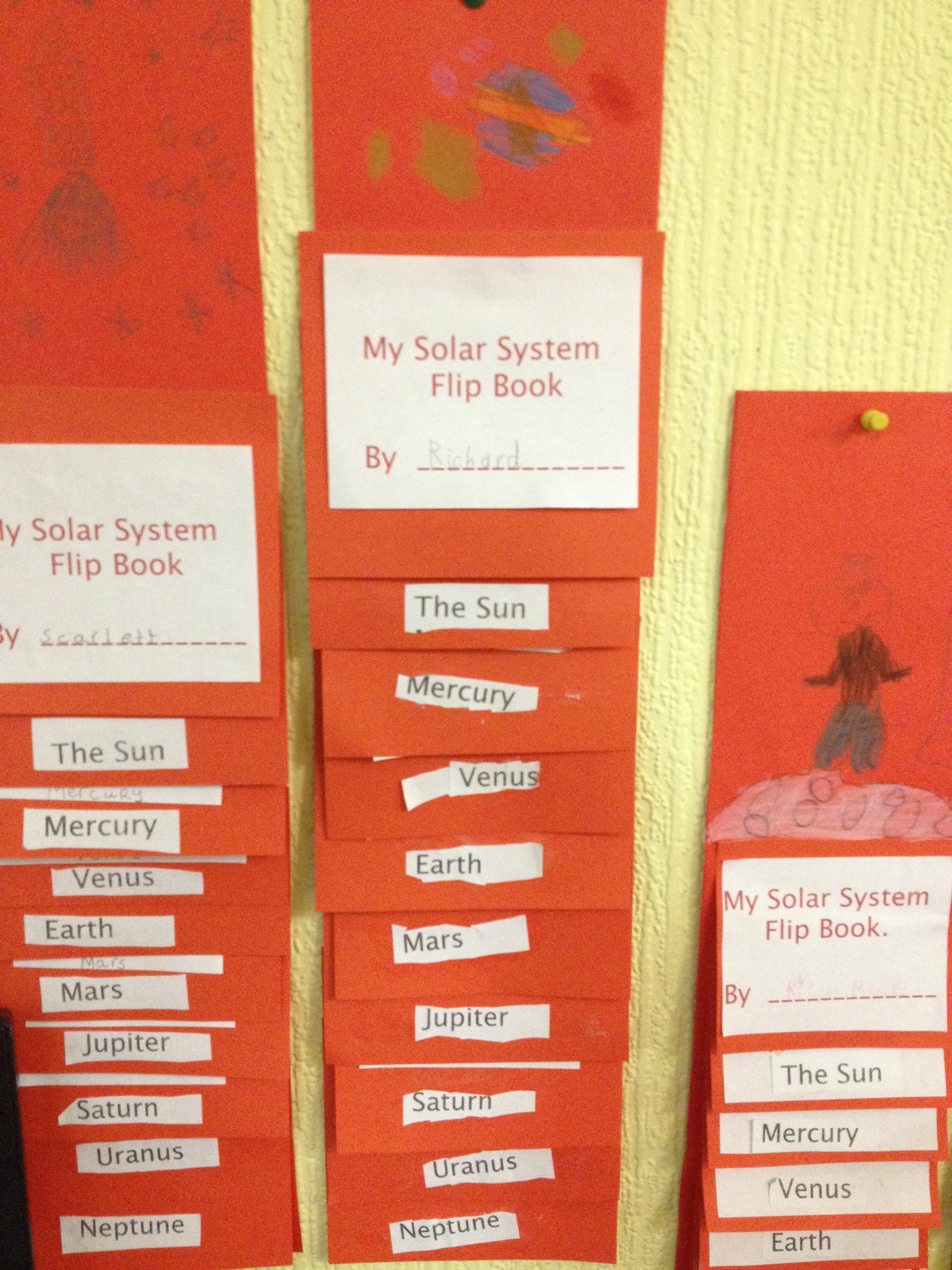 Solar System Flip Book Printable - Pics about space