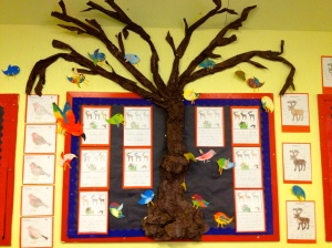 Reception class Winter Tree