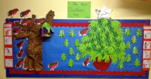 The Kind Christmas Tree Board