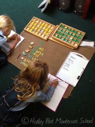 Working with phonograms