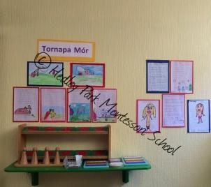 Senior Class: Gaeilge Display