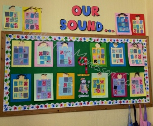 Reception Class: Our Sound Display