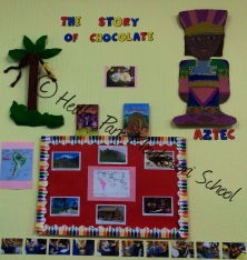 Reception Class: South America Continent Display