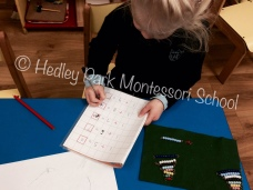 Nursery Class - independent working